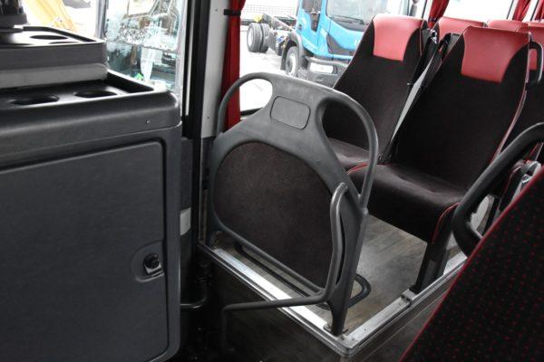 Interiér Irisbusu Evadys