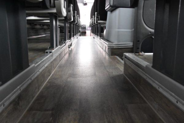 Podlaha Irisbusu Evadys